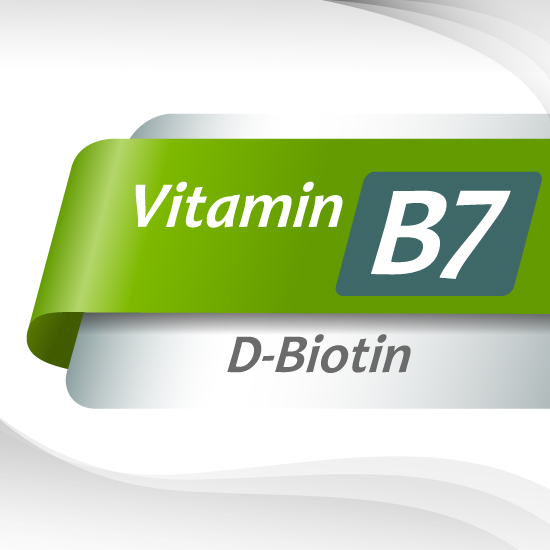 Vitamin B7 ( D – Biotin ) : Powder